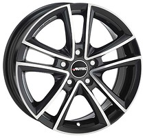 Autec Yucon (7x16/5x114.3 ET45 d70.1) Black Polished