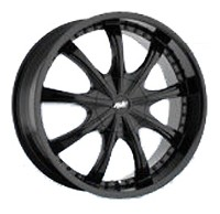 Mi-tech A-605 (8x20/5x112 ET40 d73.1) satin black