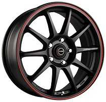 Racing Wheels H-422 (6.5x15/5x114.3 ET40 d73.1) BK-LRD