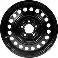 Фото Steel Wheels Kapitan (7x17/5x108 ET50 d63.4) Black