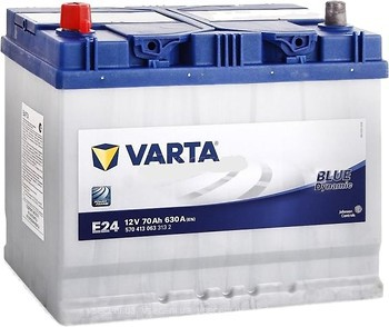 Фото Varta Blue dynamic 70 Ah (E24) (570 413 063)