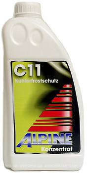 Фото Alpine C11 Kuhlerfrostschutz Yellow 1.5л