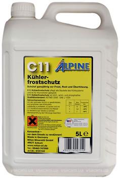 Фото Alpine C11 Kuhlerfrostschutz Yellow 5л