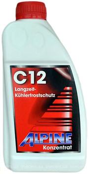 Фото Alpine C12 Langzeitkuhlerfrostschutz Red 1л