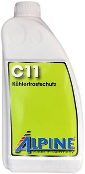 Фото Alpine C11 Kuhlerfrostschutz Green 1.5 л