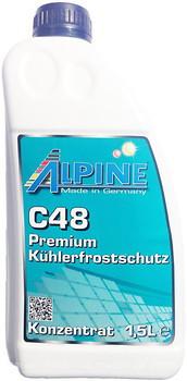 Фото Alpine C48 Kuhlerfrostschutz Violett 1.5л
