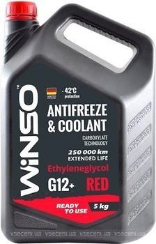 Фото Winso Antifreeze & Coolant Red G12+ 5кг (880910)