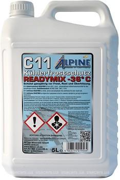 Фото Alpine C11 Kuhlerfrostschutz Readymix -36 Blue 5 л