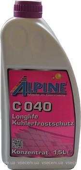 Фото Alpine C040 Premium Langzeitkuhlerfrostschutz 1.5л