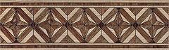 Фото Inter Cerama фриз Massima коричневый 15x50