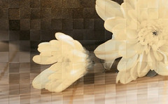 Фото Golden Tile декор Bali бежевый 25x40 (411421)
