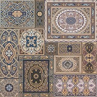 Фото Атем плитка напольная Aladdin B 40x40 (15419)