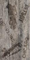 Фото Golden Tile декор Vesta коричневый 30.7x60.7 (У37910)