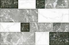 Фото Inter Cerama плитка настенная Grani серая 23x35