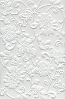 Фото Kerama Marazzi плитка настенная Аджанта Цветы белая 20x30 (8216)