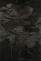 Фото TAU Ceramica декор Fiber Amapola Negro 31.6x45