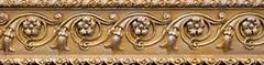 Фото Cevica фриз Rombo Loft Cenefa Flor Gold 7.5x30