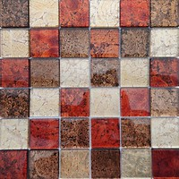 Фото Vivacer мозаика Декор Mix Red 30x30