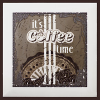 Фото Monopole Ceramica декор Coffee Time C Brown 15x15