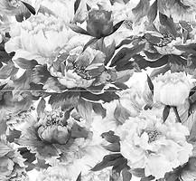 Фото Inter Cerama декор-панно Metalico черное 46x50 (комплект 2 шт)
