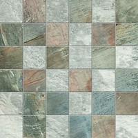 Фото ABK Ceramiche мозаика Fossil Mos Quadretti Mix L Grey/Blue 30x30 (FSN03211)