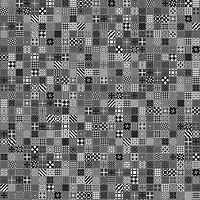 Фото Golden Tile плитка напольная Maryland черная 40x40 (56С830)