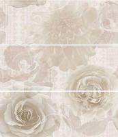 Фото Dual Gres декор-панно Daisy Set Mohana 60x67.5 (комплект 3 шт)