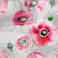 Фото Ceramika Color декор-панно Terra Dekor Fiore 75x75 (комплект 3 шт)