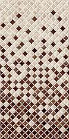 Belani плитка настенная Симфония коричневая 25x50