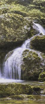 Фото Атем декор-панно Waterfall 119x236 (16715) (комплект 16 шт)