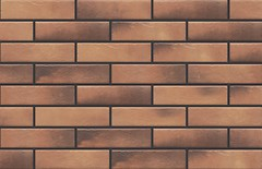 Фото Cerrad плитка фасадная Retro Brick Curry 6.5x24.5