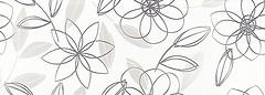 Фото Roca декор Calypso B&W Inserto Garden Blanco 25x70