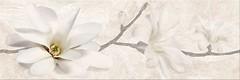 Фото Opoczno декор Stone Flowers Beige 25x75