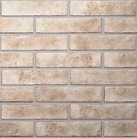 Фото Golden Tile плитка настенная Brickstyle Baker Street светло-бежевая 6x25 (22V020)