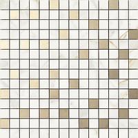 Фото Ragno ceramica мозаика Bistrot Mosaico Calacatta Michelangelo 40x40 (R4ZU)
