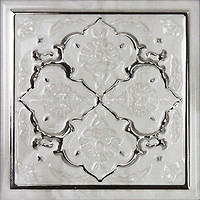 Фото Monopole Ceramica декор Petra Armonia C Silver 15x15