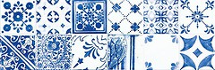 Фото Rako плитка настенная Majolika синяя 29.8x59.8 (WARVE146)