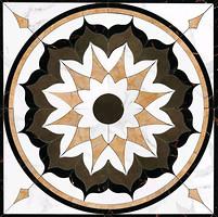 Фото Grespania декор-панно Palace Buckingham Carrara 118x118 (52PA45B) (комплект 4 шт)