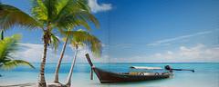 Фото Атем декор-панно Paula Sea Cost Mini 40x100 (16799) (комплект 4 шт)