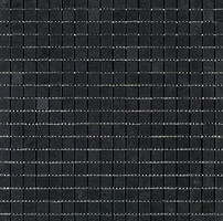 Фото Imso Ceramiche мозаика Mosaici Basalto Nero 30x30 Куб 1.7x1.7