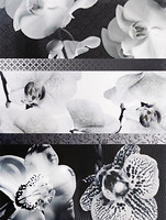 Фото TAU Ceramica декор Fiber Decor Floor Negro 31.6x45