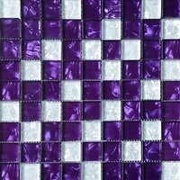 Фото Vivacer мозаика Декор Mix Violet 30x30
