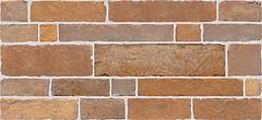 Фото Inter Cerama плитка настенная Brick красно-коричневая 23x50 (235050022)