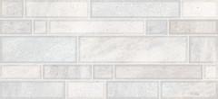 Фото Inter Cerama плитка настенная Metro светло-серая 23x50 (235059071)