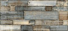 Фото Inter Cerama плитка настенная Verso темно-серая 23x50 (2350134072)