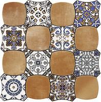 Фото Cristal Ceramica декор Carnaby Decor Cotto 45x45