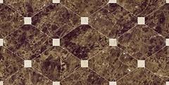 Фото Navarti плитка настенная Crema Marfil Crown Marron 25x50