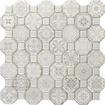 Фото Oset плитка напольная Tessera White 33x33