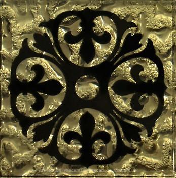 Фото Grand Kerama вставка Tako Бутон золото 6.6x6.6