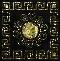 Фото Grand Kerama вставка Tako Византия золото 6.6x6.6